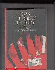 GAS TURBINE THEORY by COHEN,ROGERS,SARAVANAMUTTOO, 3rd Edition Hardcover/DJ 1992