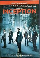 INCEPTION (2010) di Christopher Nolan - Leonardo DiCaprio -  DVD EX NOLEGGIO