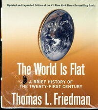 Audiobook - The World Is Flat by Thomas L. Friedman  CD   -   Abr