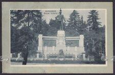 ALESSANDRIA CITTÀ 125 MONUMENTO a UMBERTO I Cartolina viaggiata 1913