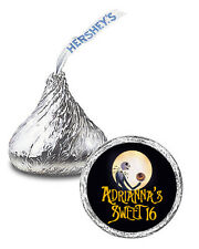 108 The Nightmare Before Christmas Personalized Party Favor Kisses Labels