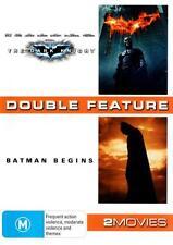 THE DARK KNIGHT / BATMAN BEGINS : NEW DVD