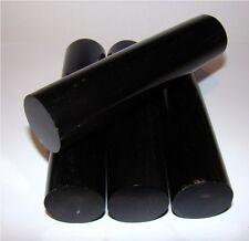 Büffelhorn Rolle schwarz ca. 11-12x3-3,3cm Messergriff, Messergriffblock  615