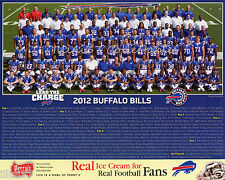 2012 BUFFALO BILLS FOOTBALL NFL 8X10 TEAM PHOTO PICTURE