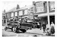 pt4467 - Blackpool , Motorbus S and J Wood Lytham Road , Lancs - photograph 6x4