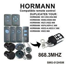 HORMANN télécommande Copieuse de porte de Garage 868MHz MARANTEC Clone portail