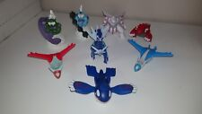 All 8 McDonalds Happy Meal Pokemon Legendary Collection Action Figures UK 2019.