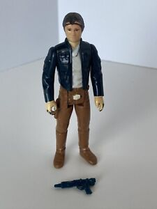 1980 Star Wars Vintage ESB BESPIN HAN SOLO CLOUD CITY Action Figure 💯 Complete