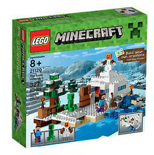 LOOK Lego Minecraft 21120 The Snow Hideout 2015 Release