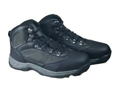 Mens Black/Gray Hiking Water Resistant Boots Goodfellow & Co Size 12