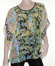 Kaftan Top Caftan Blouse Batwing Plus Size 8 - 26 Women Sheer Resort Cover Up