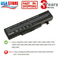 L11S6Y01 Battery for Lenovo IdeaPad Y480 Y580 G480 G580 Z380 Z480 Z580 Z585