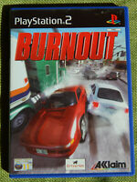 Burnout (Sony PlayStation 2, 2001, PAL, PS2, Game)