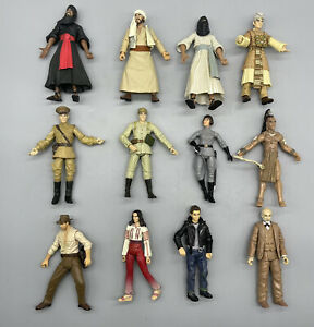 Indiana Jones 12 Figure lot (Indiana Jones, Soldiers, Marion, Cairo Swordsman…)