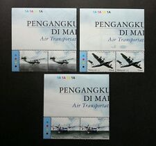Air Transportation In Malaysia 2007 Aviation Vehicle Airplane (stamp block 2 MNH