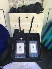 Jo Malone Red Roses 100ml Cologne & 100ml Basil & Neroli Wash Set - With Box&Bag