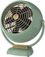 New Vornado Vfan Jr. Vintage Air Circulator Green Fan GIFT