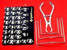 31 Ea Endodontic Rubber Dam Clamp With Black Traydental Instrumentstools Kit