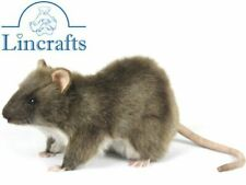 Hansa Rat 7236 Plush Soft Toy Rodent Sold by Lincrafts Established 1993