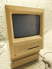 VTG Apple Macintosh SE M5011 Computer, Keyboard, Mouse, SCSI Drive Box, Case