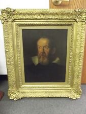 Original 1624 Galileo Galilei Antique Old Master Oil Painting Justus Sustermans