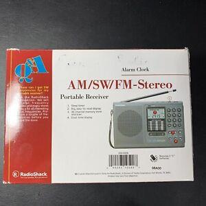 radio shack dx-396 all-band shortwave receiver