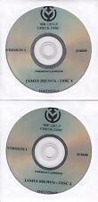 The Night James Brown Saved Boston 2009 UK promo only test 2-DVD