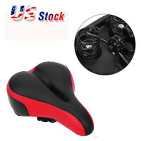Thickened Wide Bum Bicycle Seat Saddle Cushion For Mountain Road Bike MTB US