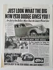 1938 Dodge Truck Claudette Colbert Look What Gives You  Original Ad