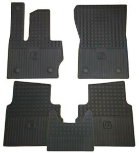 Mercedes-Benz OEM All Weather Floor Mats 2019 to 2021 G-Class (463) Set of 5