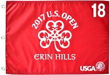 2017 US Open OFFICIAL (Erin Hills) SCREEN PRINT Flag