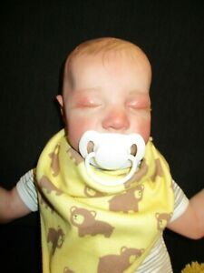 reborn doll 16 inches with painted hair John