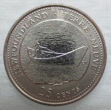 1992 CANADA 25¢ NEWFOUNDLAND BRILLIANT UNCIRCULATED QUARTER