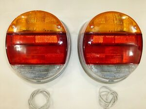 TAIL LIGHT ASSEMBLY FITS VOLKSWAGEN TYPE 1 VW BUG & SUPER BEETLE 1973-1979 PAIR