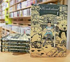 Wonderland 1/5 Serie Completa - Jpop Manga - ITALIANO NUOVO #NSF3