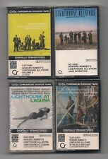 HOWARD RUMSEY'S LIGHTHOUSE - Lot of 4 SEALED cassettes :Jazz, Solo, Laguna, Vol6