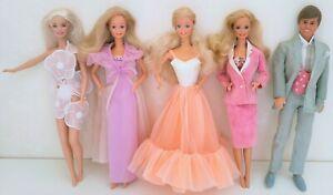 Superstar Barbie Peaches'n Cream Day to Night Dreamtime Congost Ken Dream Glow