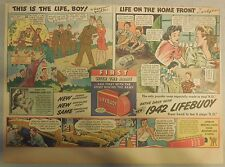 LifeBuoy Soap Ad: This Is The Life, Boy  ! Wartime Ad from 1940's