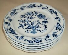 FOUR Blue Danube Japan BREAD & BUTTER PLATES 6-3/4""