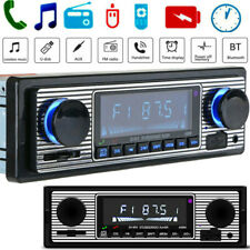 In-Dash 1 Din Car Radio Bluetooth Stereo Head Unit MP3/USB/SD/ AUX-IN/ FM Player