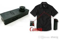Black Mini Button Spy DV With Camera Video PC Cam Voice Recorder 640 x 480 VGA
