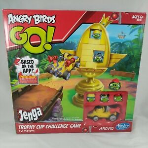 Angry Birds GO! Jenga Trophy Cup Challenge Game - Brand New