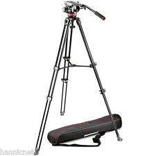 Manfrotto MVH502A Fluid Head and MVT502AM Tripod with Carrying Bag * NEW