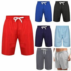 Mens Short Breathable Mesh Lining Swimming Beach Holiday Trunks Surf Board Cargo