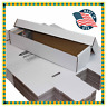 Lot Of 25 - BCW 800 Count 2-Piece Shoe Box Baseball Trading Card Storage Boxes
