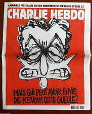 """Charlie hebdo n°1184 du 1/04/2015 Couverture Luz """" Sarkozy"""""""