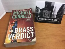 A Lincoln Lawyer Novel: The Brass Verdict 2 by Michael Connelly 2009, Paperback