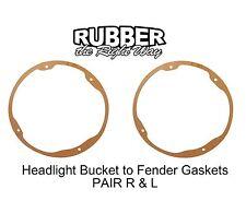 1941 - 1956 Ford Headlight Bucket to Fender Seals Pair