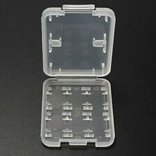 Holder 8 Slots Storage Case Transparent For Micro SD TF SDHC MSPD Memory Card