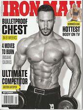 SEPT 2015 IRON MAN vintage body building magazine ANTON ANTIPOV
